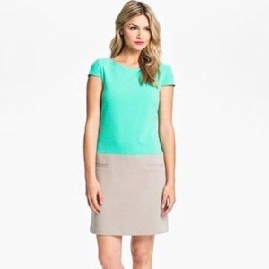 Eliza J colorblock sheath dress